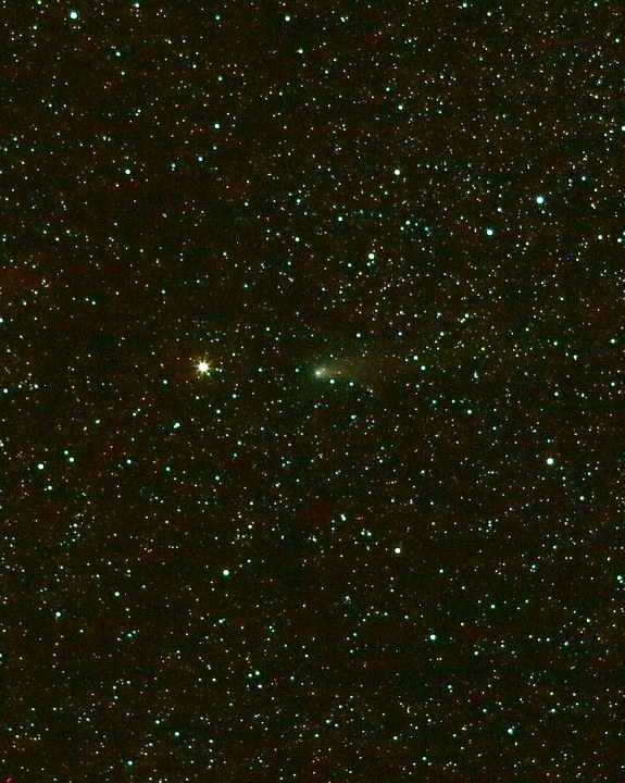 Comet P21 next to Eta Geminorum