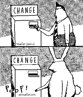 Mueller change machine cartoon
